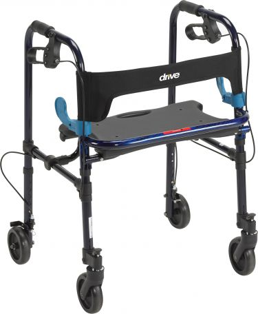 "Clever-Lite Walker, Adult, with 5"" Casters"
