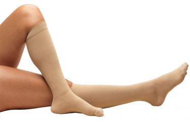 Knee High Closed Toe Stockings / Anti-Embolism