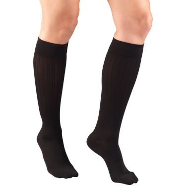 Knee High Rib Pattern / Ladies' Socks